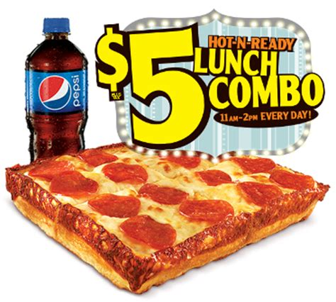 5 dollar fashion locations caesars 5 n ready lunch combo giveaway