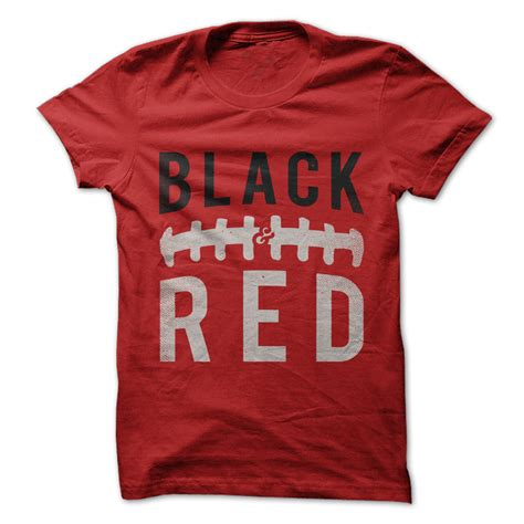 Design A Football Shirt Games | black and red football