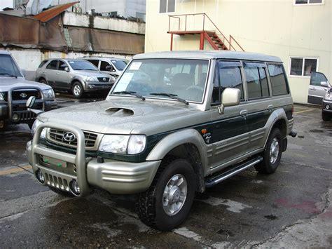 Galloper Auto 2002 hyundai galloper ii pictures information and specs