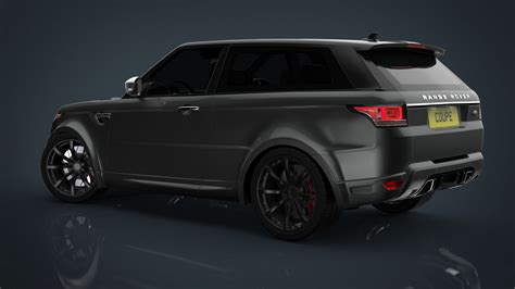range rover coupe anyone care for a true two door range rover sport coupe