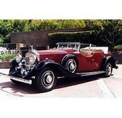 Thrupp &amp Maberly Rolls Royce Phantom II Dual Cowl Phaeton 1935