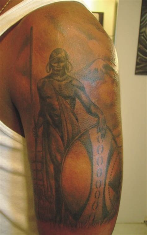 african warrior tattoos warrior tattoos