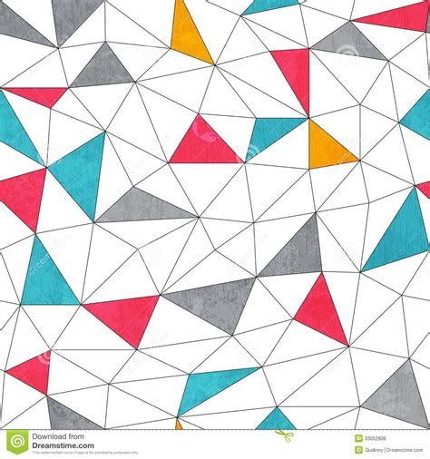 abstract pattern triangle abstract color triangle seamless pattern with grunge