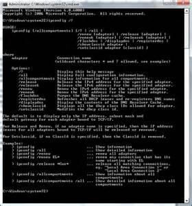 Blind Supplies Ipconfig Ip Configuration In Windows Vista