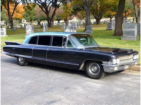 classic limousine 1962 cadillac fleetwood limousine for sale classiccars