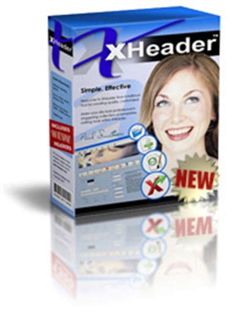 header design software free header graphics software xheader