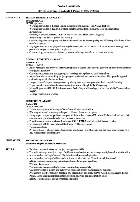 Distribution Analyst Sample Resume