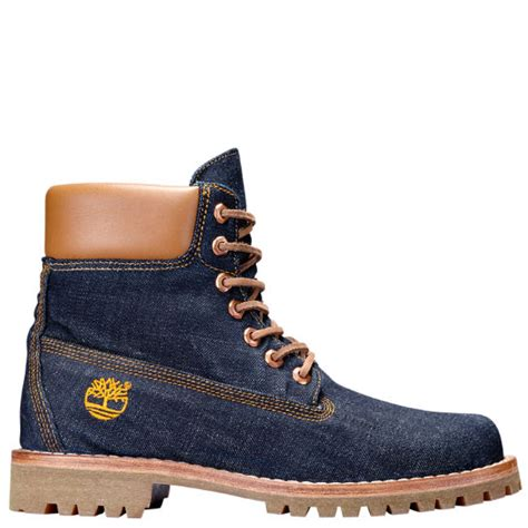 timberland men s limited release white oak denim 6 inch