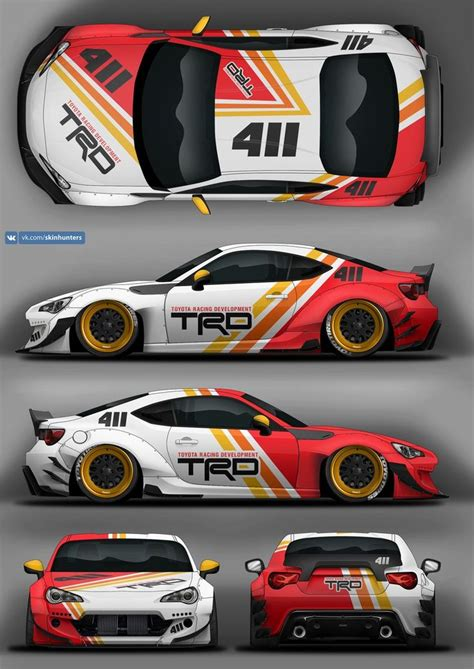 Racing Sticker Design by Car Racing Stickers Design