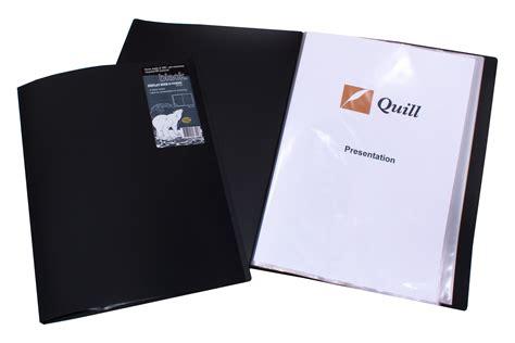 display books display book a4 20 pocket non refillable black harleys