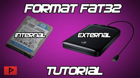 format hard disk ps3 how to format internal or external hard drive as fat32