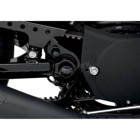 Cover Swing Arm Aram Standar drag specialties black swingarm pivot bolt covers 1303 0201 harley davidson motorcycle