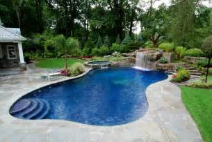 pool landscape design ideas swimming pool landscaping ideas inground pools nj design pictures