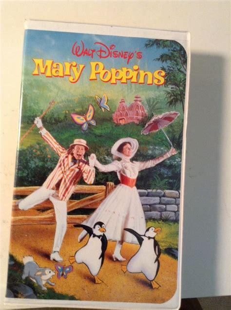 disney mary poppins vhs ebay walt disney s mary poppins vhs tape ebay