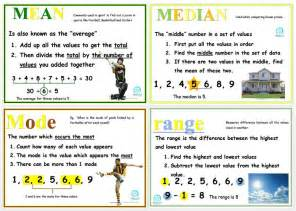 mean median mode and range posters edgalaxy cool