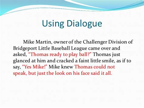 How To Write A Nonfiction Essay by Using Dialogue In Essays Cscsres X Fc2