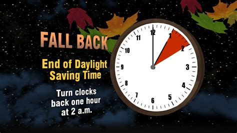 Daylight saving time 2013 time to fall back airman amp family