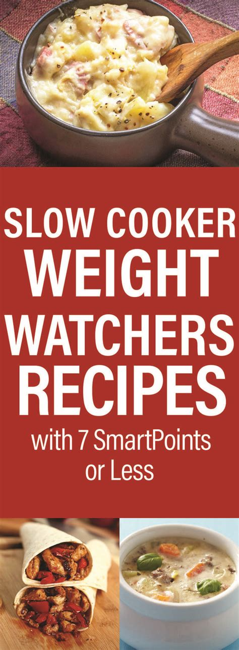 cooker weight watchers recipes crock pot weight watchers recipes with 7 smartpoints or less