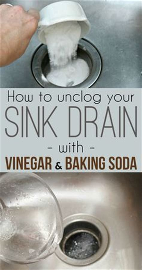 How To Unclog A Kitchen Sink Filled With Water 1000 Ideas About Unclog Bathroom Sinks On Pinterest Drain Cleaning Stainless Sink And