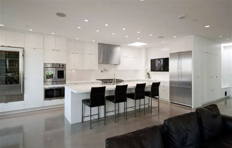 condo kitchen designs for modern contemporary white pioneer square condo modern kitchen seattle by