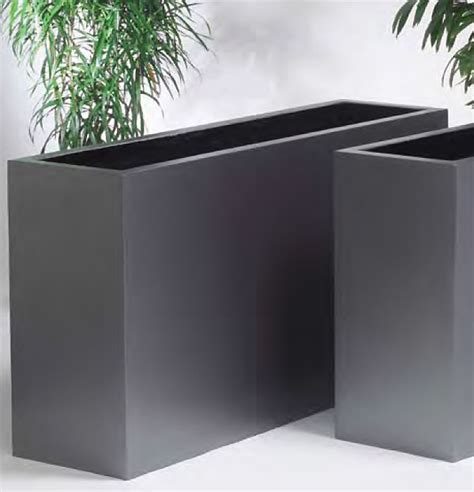 Planters Uk by Terratec Barrier Troughs Plantpots Co Uk Planters