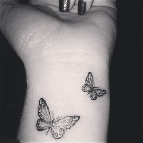 black and white butterfly tattoo 43 awesome butterfly tattoos on wrist