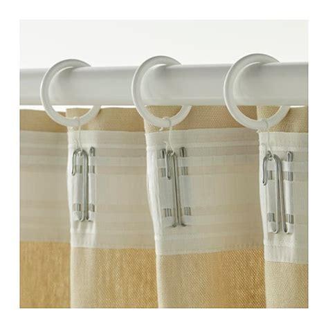 Rideaux Blancs Ikea by Syrlig Anneau Rideau Clip Crochet Blanc Ikea