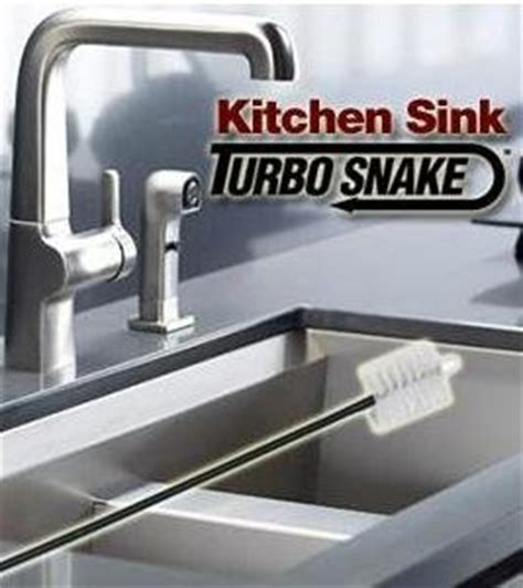 Kitchen Sink Snake Kitchen Sink Turbo Snake As Seen On Tv Drain Augers