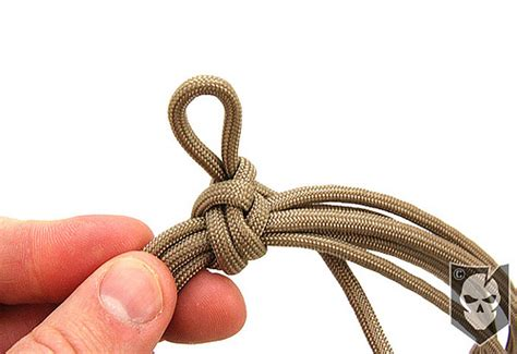 Square Knot Sinnet - how to tie a square sinnet