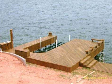 boat lift deck decks boat docks boat houses and boat lifts landscaping