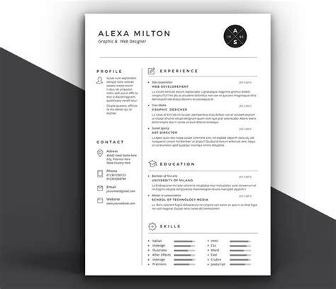 2 pages resume by estartshop on creative market business