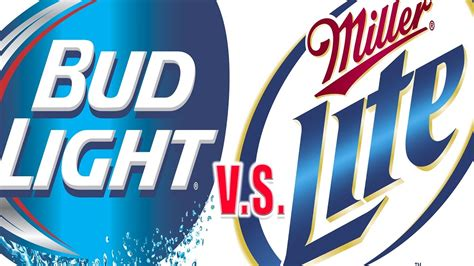 light vs bud light bud light vs miller lite