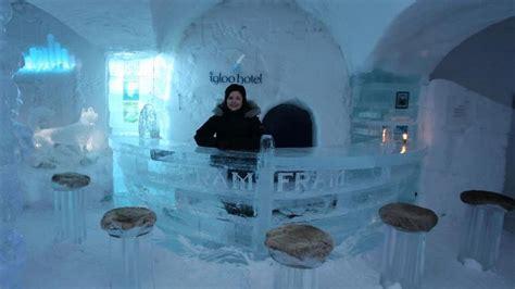 Unusual Bathroom Suites Sorrisniva Igloo Hotel On The Rocks