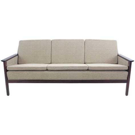 danish modern sofa for sale elegant danish modern sofa with rosewood frame for sale at