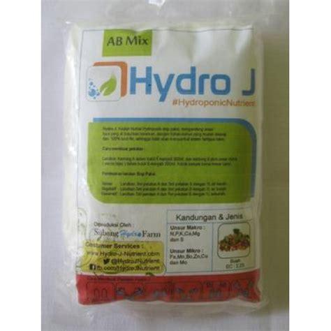 Nutrisi Hidroponik Ab Mix Buah jual pupuk nutrisi hidroponik ab mix buah hydro j 250gr