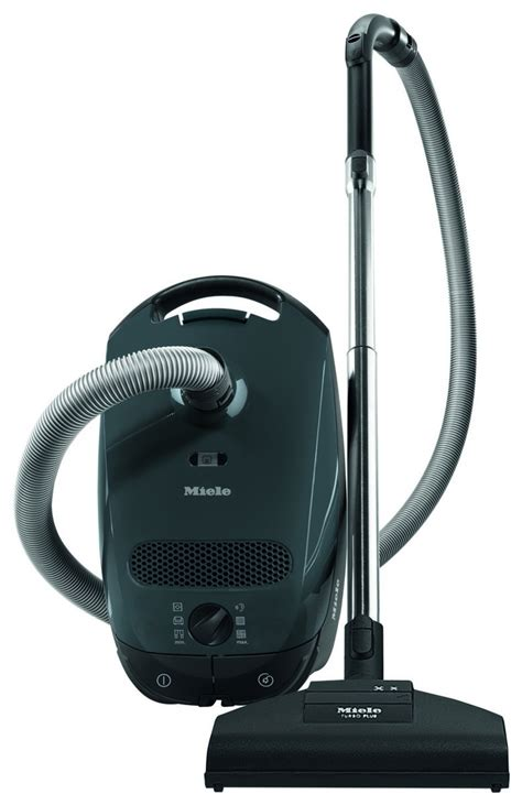 miele vaccum miele classic c1 grey canister vacuum 41ban031usa