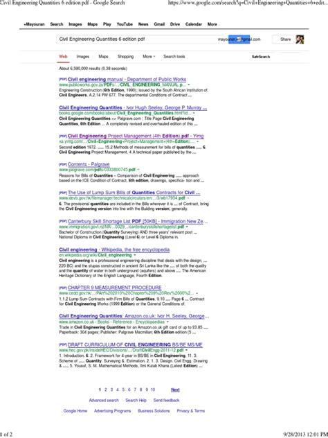 Civil Engineering 6 civil engineering quantities 6 edition pdf search