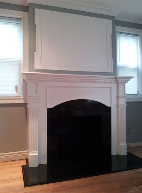Fireplace Mantel Trim fireplace mantel moldings for flat screen the of moldings