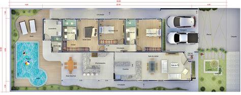 planta casas planta de casa piscina e hidro projetos de casas