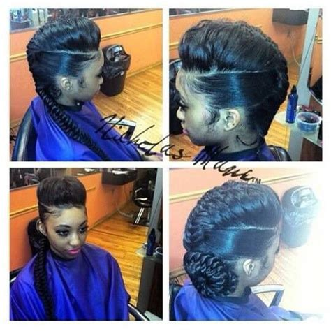 jumbo braid with bang jumbo braid ponytail with bangs pictures ponytail