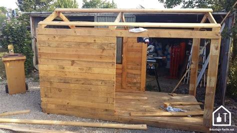 Construire Cabane En Palette by Construire Une Cabane En Palette Tuto Diy
