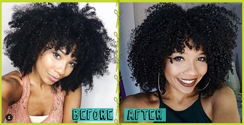 using devacurl products in african american hair devacut before afters that will make your jaw drop