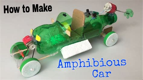How To Make A Model Car Out Of Paper - how to make hibious car using plastic bottle