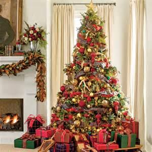 pile on the plaid christmas tree