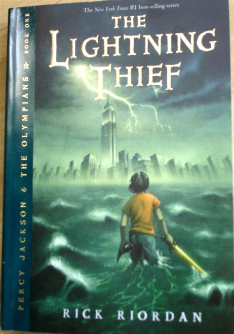 book report on the lightning thief the lightning thief book quotes quotesgram
