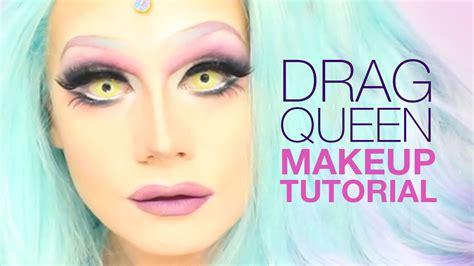 tutorial makeup queen drag queen makeup tutorial youtube