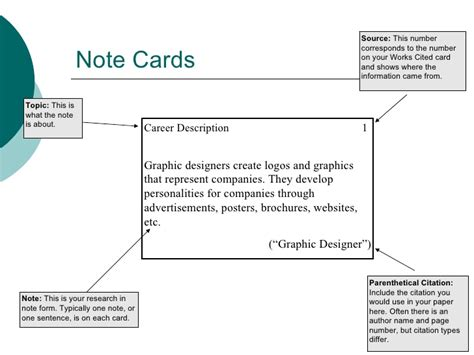 how to make note cards taking notes with note cards