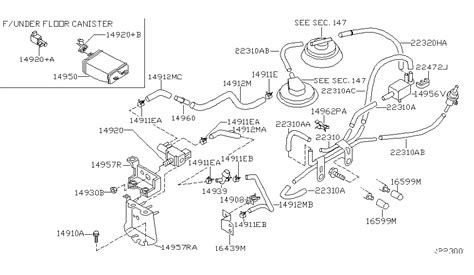 engine vacuum piping for 2004 nissan frontier