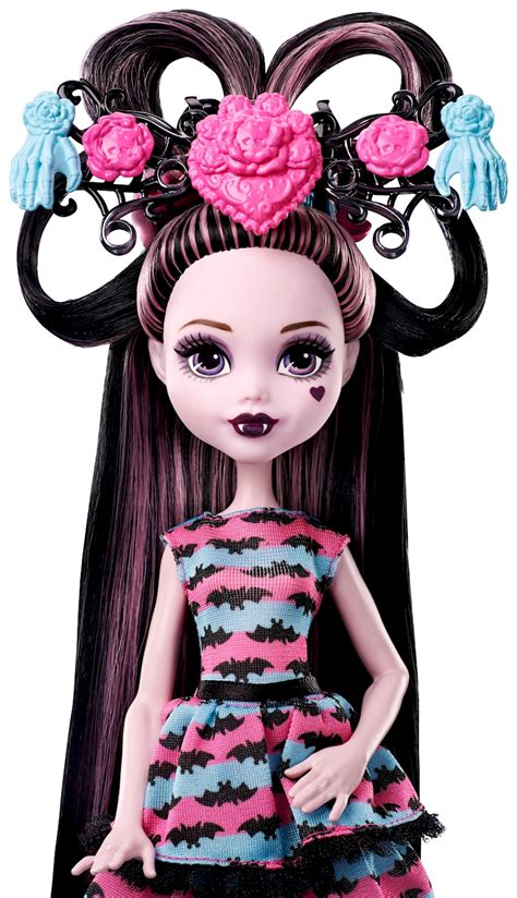 doll hairstyles high high draculaura doll with ultra hair and