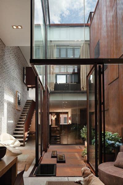 crest home design nyc ไอเด ยร โนเวทต กแถวในเม อง new york จากโกด งให กลายเป น